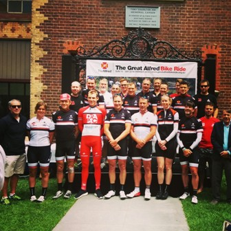 GABR 2014 Riders welcomed home