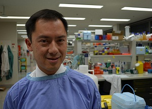 Dr Andrew Wei is leading the clinical trial